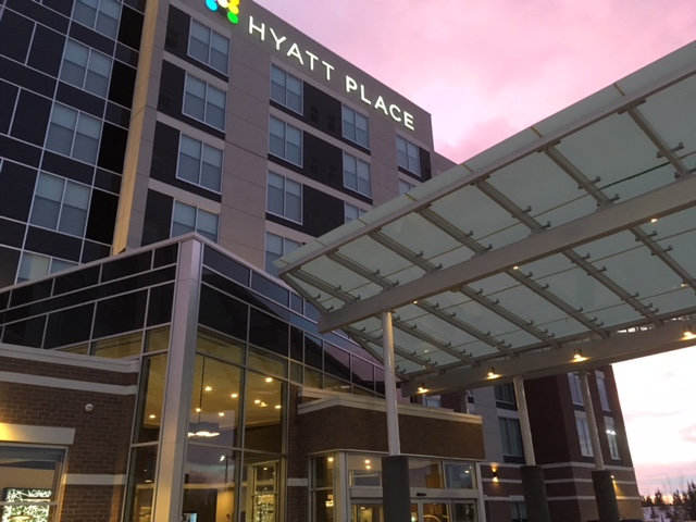 Hyatt Place Entrence Structure 3
